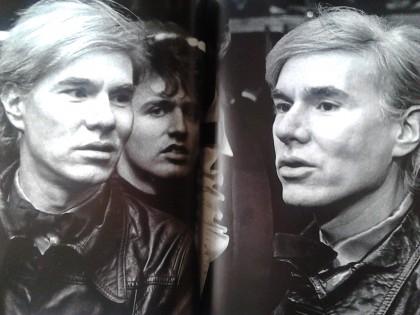Andy Warhol Doppelt, Foto Ron Galella